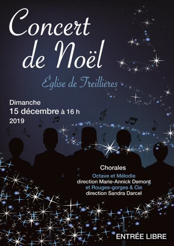 Affiche concert noel 2019